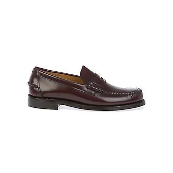 Sebago men's B76690MORO brown leather moccasins