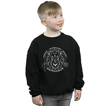 Harry Potter Boys Gryffindor Seal Sweatshirt