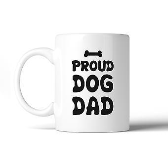 Perro orgulloso papá taza de café cerámica de 11 Oz