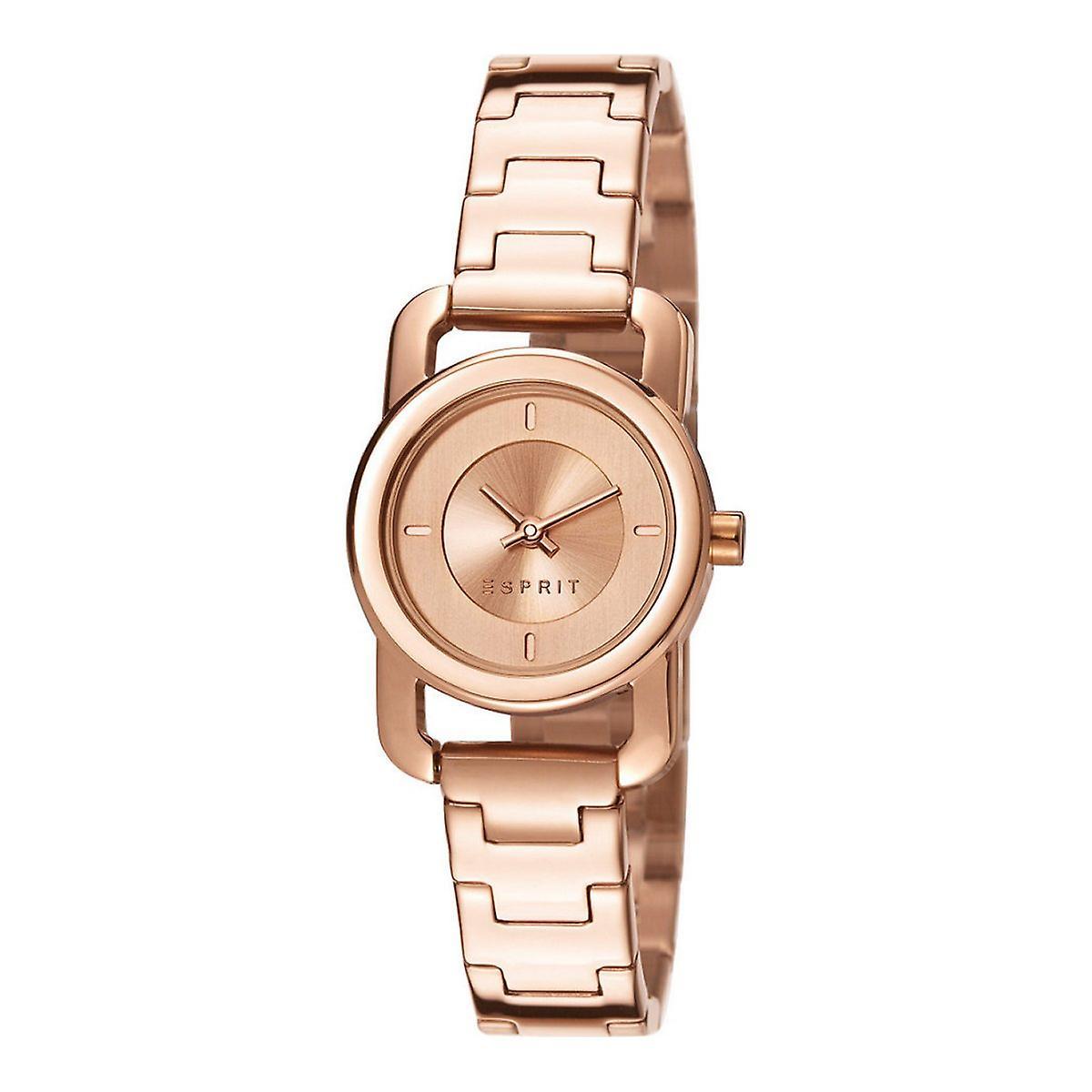 esprit damen uhr armbanduhr dora edelstahl ros es107752004 fruugo. Black Bedroom Furniture Sets. Home Design Ideas