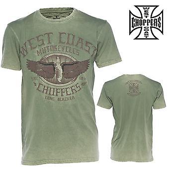 West Coast choppers T-Shirt wings logo tee
