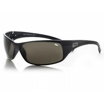 Bolle Recoil Sunglasses (Smoke Lens Shiny Black Frame)