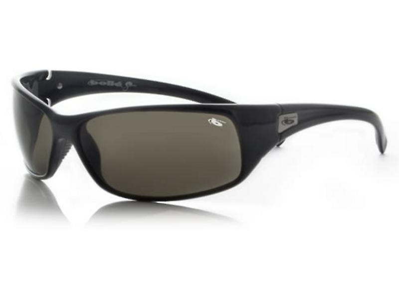 Bolle Recoil Sunglasses Smoke Lens (Shiny Black Frame)