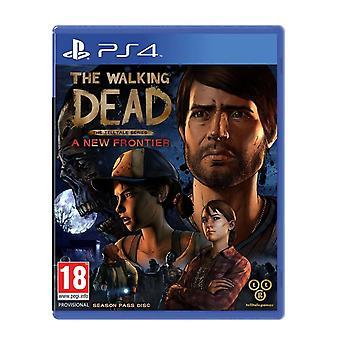De wandelende dode veelbetekenende-serie de nieuwe grens PS4 Game