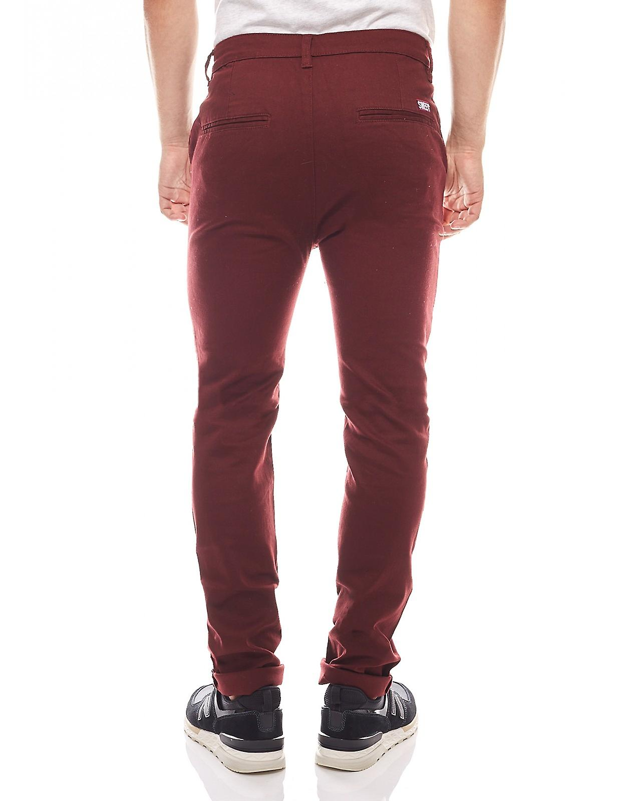 sweet sktbs chino herren jeans rot the chinos bordeaux. Black Bedroom Furniture Sets. Home Design Ideas