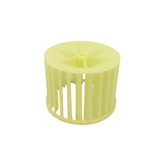 Zanussi tombo secador plástico do ventilador