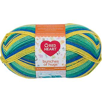 Red Heart Bunches Of Hugs Yarn-Dragon