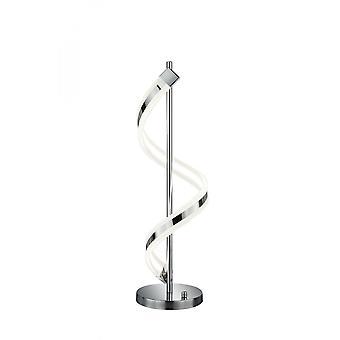 Trio Beleuchtung Sydney Modern Chrom Metall Tischlampe