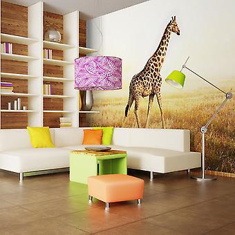 Tapete - Giraffe - Spaziergang