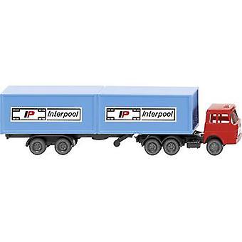 Wiking 095002 N Henschel Container truck Inter-pool