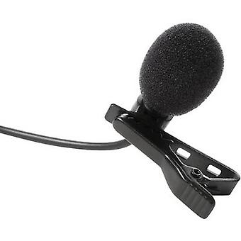 Clip Speech microphone IK Multimedia MIC LAV Transfer type:Corded incl. clip, incl. pop filter