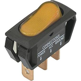 SCI Toggle switch R13-242B2 12 Vdc 25 A 1 x Off/On latch 1 pc(s)