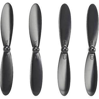 Hubsan Multicopter propeller set Suitable for: Hubsan X4 CAM Plus, Hubsan X4 FPV Plus