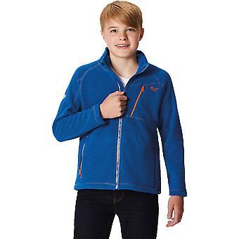 Regatta Boys & Girls Marlin VI Honeycomb Full Zip Hiking Fleece Jacket