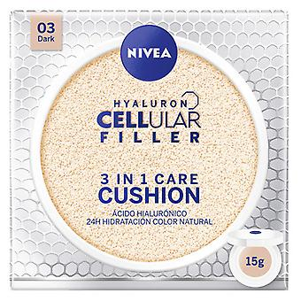 Nivea Polvo Acido Hialuronico 3 In 1 Care Cushion #03 Dark 15 gr