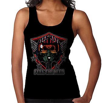 Top Gun Feel The Need Women's Vest