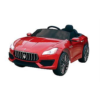 Licensed Maserati Quattroporte 12V 7A Electric Ride On Car Red