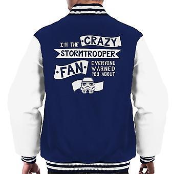 Stormtrooper original a loucura do ventilador jaqueta masculina