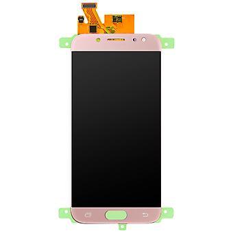 Części zamienne LCD z ekranem dotykowym dla Galaxy J7 2017 - Rosegold