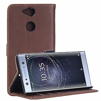 Sony Xperia XA2 Retro Wallet Pouch-koffie