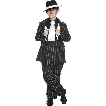 Costume de Zoot Suit, moyen de garçons 6-8 ans