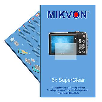 Nikon COOLPIX S3300 screen protector-Mikvon filmy SuperClear