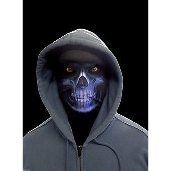 Wild Star Hearts - GRIM REAPER - Blue Lycra Face Mask