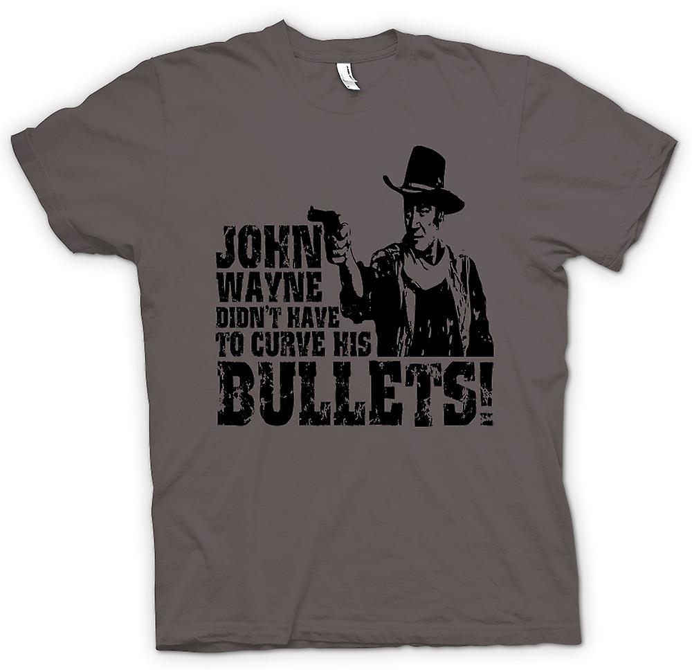 Womens T-shirt - John Wayne böjda - Cowboy