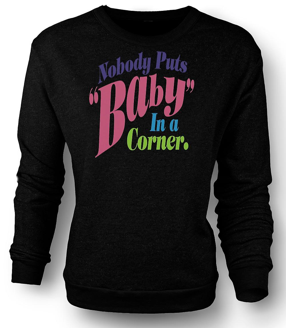 Mens Sweatshirt Dirty Dancing - Baby In Corner - Funny