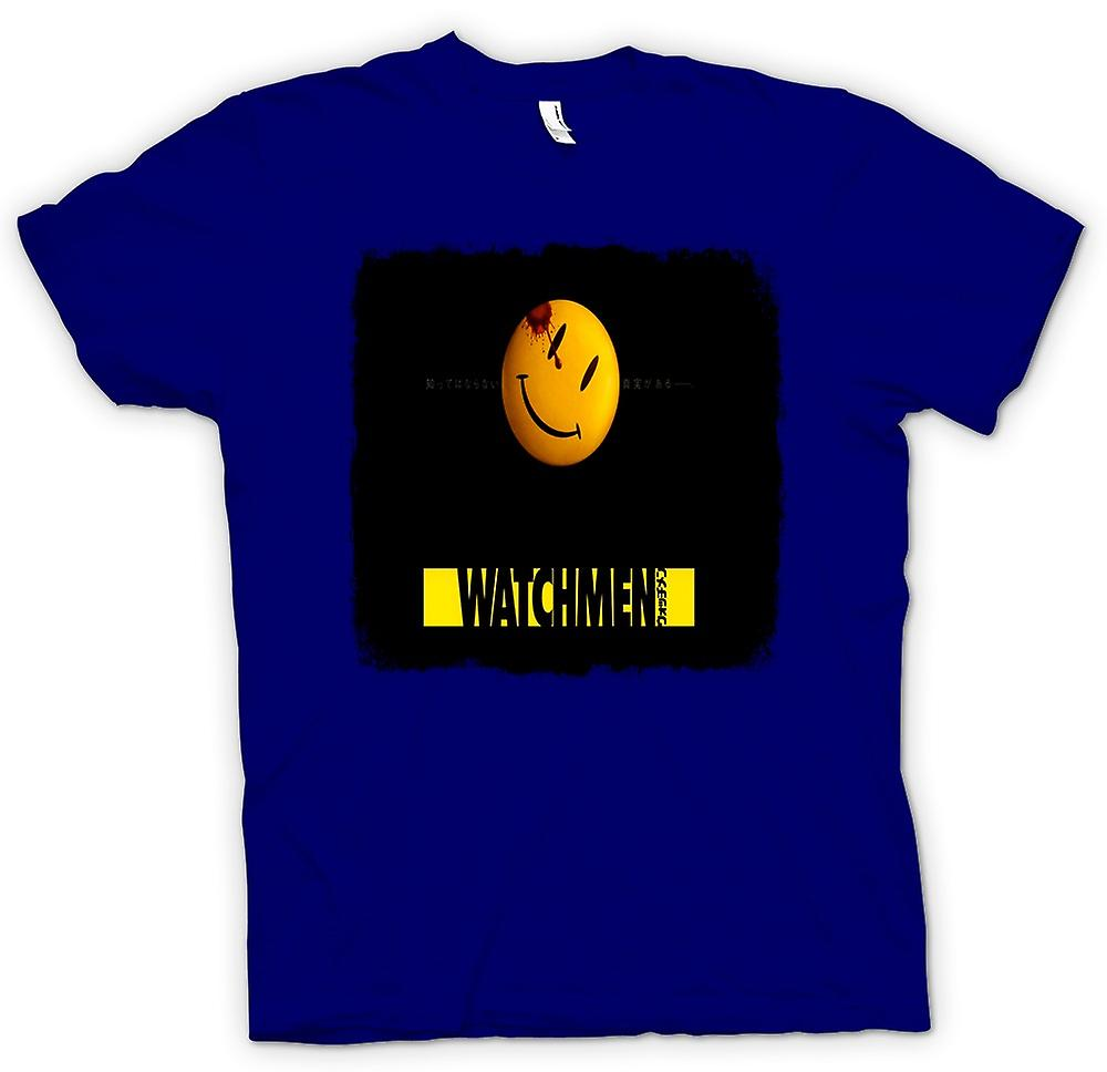 Heren T-shirt - Watchmen - Japanse film