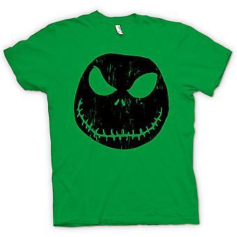 Kids T-shirt - Scary Halloween Pumpkin - Smiley Face