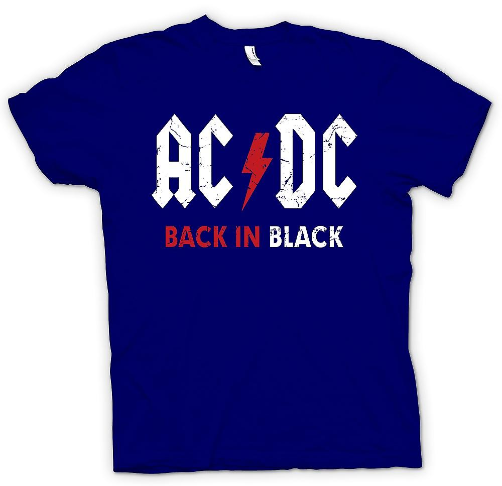 Herr T-shirt - AC/DC - Back In Black
