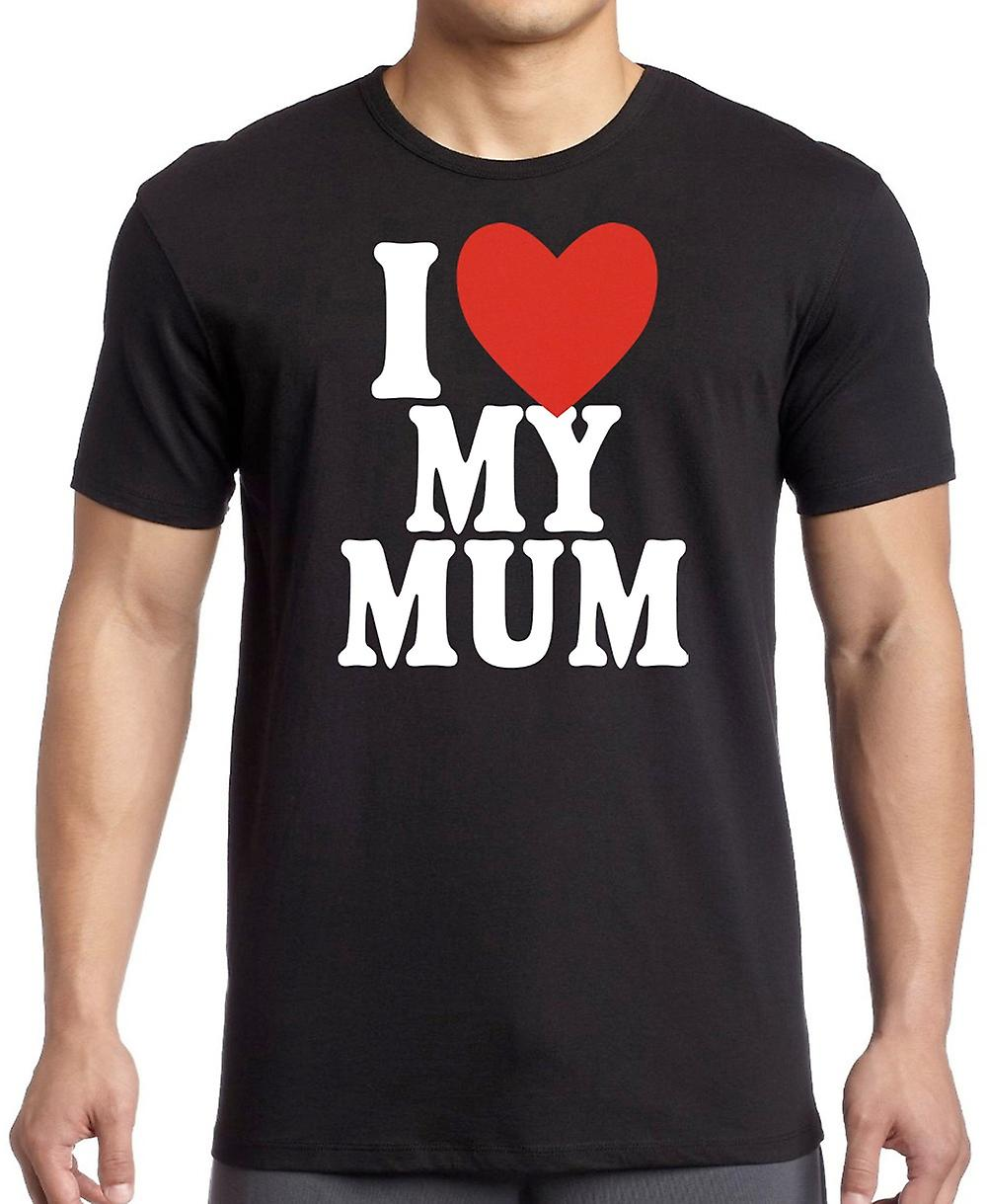 I Love My Mum - Cute Kids T Shirt