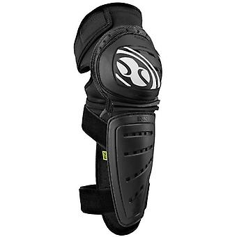 IXS Black 2018 Mallet Pair of MTB Knee and Shin Guard