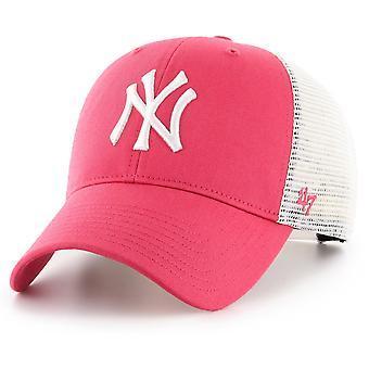 47 brand Truckerkeps - FLAGGSKEPP New York Yankees berry