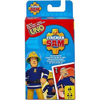 Uno Junior Card Gioco Fireman Sam FMW18