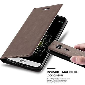 Cadorabo Case for LG G5 Case Cover - Phone Case with Magnetic Closure, Stand Function and Card Case Compartment - Case Cover Case Case Case Case Book Folding Style
