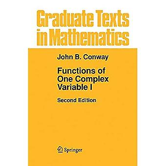 Functions of One Complex Variable: v. 1 (Graduate Texts in Mathematics)