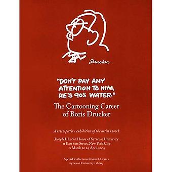 Inte betala någon att./tecknad Drucker: Serieteckning karriär Boris Drucker