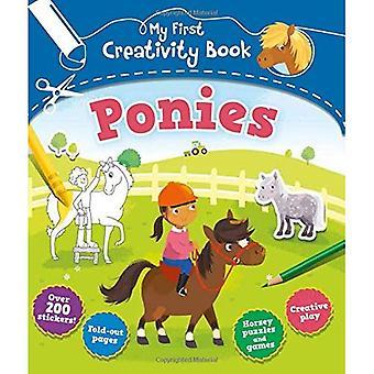 Mijn eerste boek creativiteit: pony's
