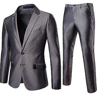 Cloudstyle Men's Suit Slim Fit Formal Wedding Suit