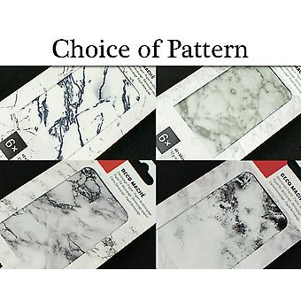 6 Decopatch Paper Sheets - Choice of Marble Designs
