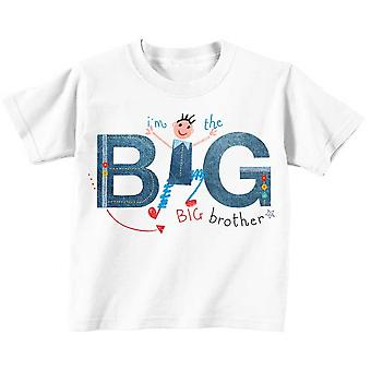 I'm The Big Brother Tshirt Professionally Illustrated