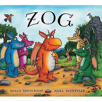 Zog presente edição placa livro de Julia Donaldson - Axel Scheffler - 978