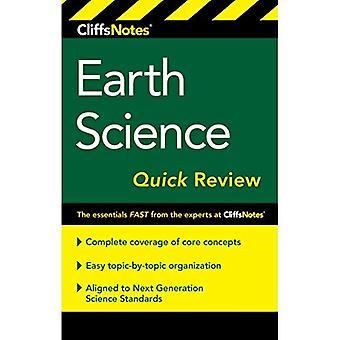 CliffsNotes Earth Science snabb genomgång, 2nd Edition