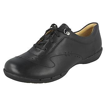Ladies Clarks Casual Lace Up Shoes Un Halsie
