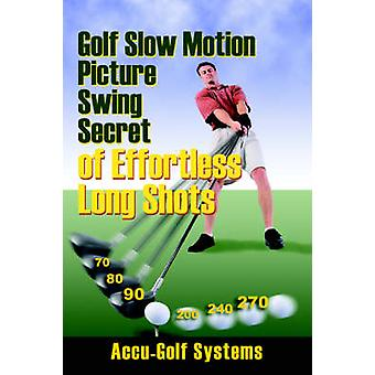 Golf Slow Motion Picture Swing Secrets of Effortless Long Shots by AccuGolf Systems