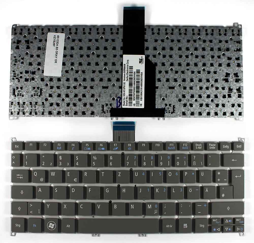 Acer Aspire One 725-C62bb gris allehommed Layout remplacement clavier d'ordinateur portable