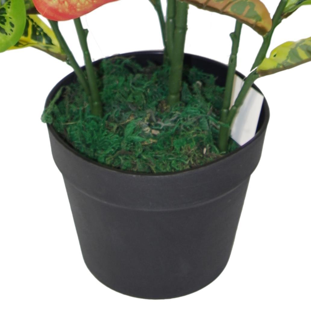 90cm Artificial Codiaeum Multicoloured House Plant - Large