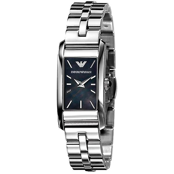Emporio Arhommei Ar0747 Ladies noir Mother Of Pearl Dial Watch